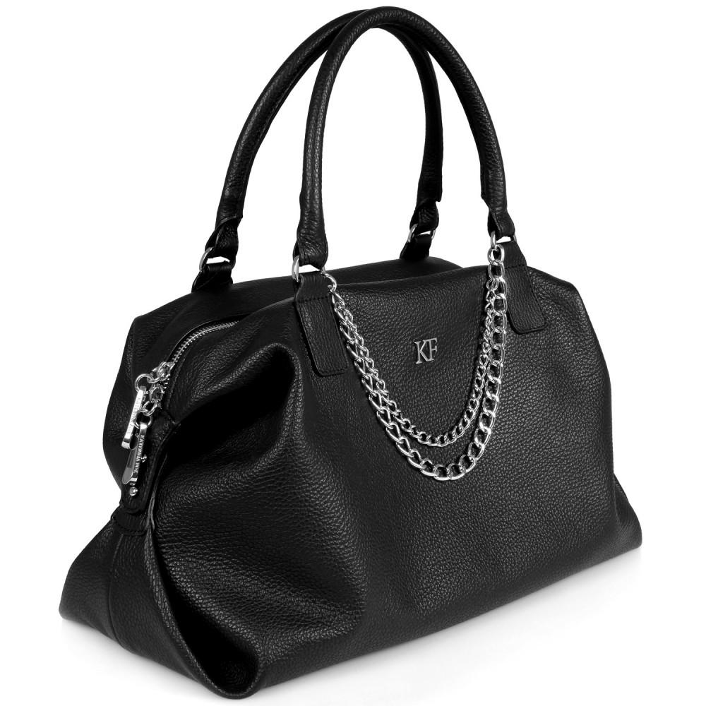 Жіноча шкіряна сумка Mary KF-017-1