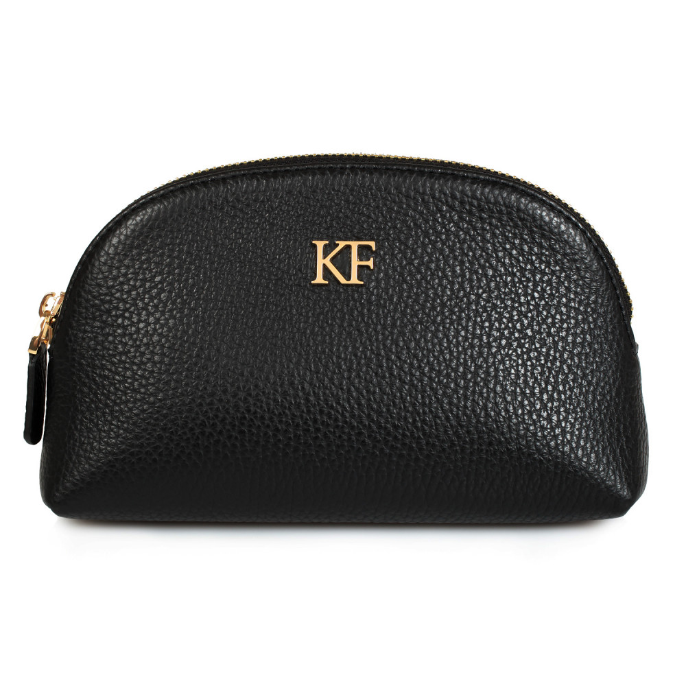 Women's leather cosmetic bag Ksusha KF-075