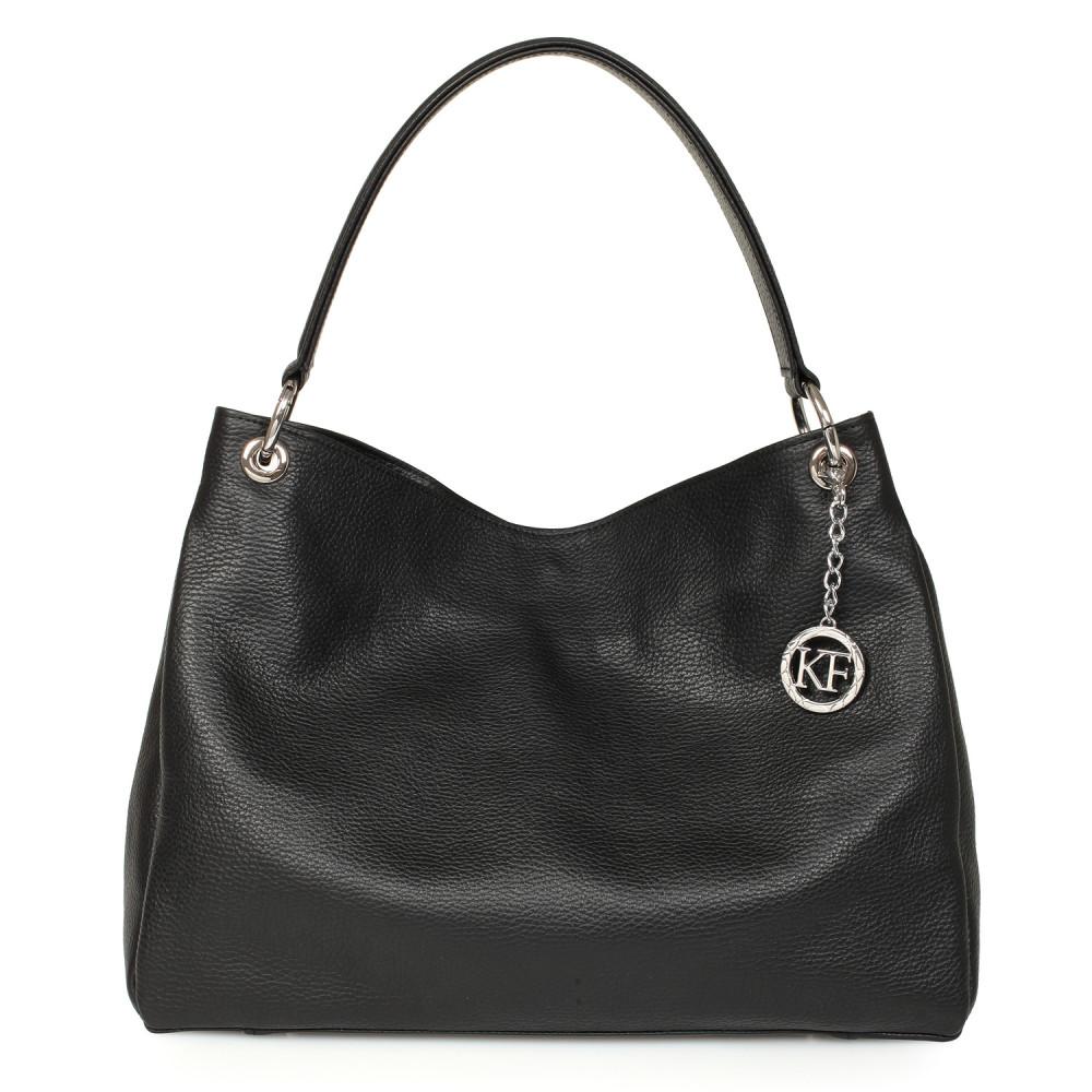 Жіноча шкіряна сумка-мішок Хобо Nadin KF-1066
