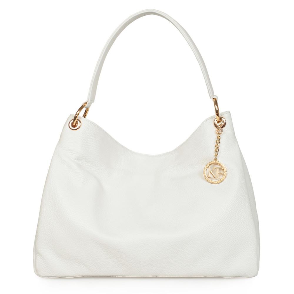 Жіноча шкіряна сумка-мішок Хобо Nadin KF-1090