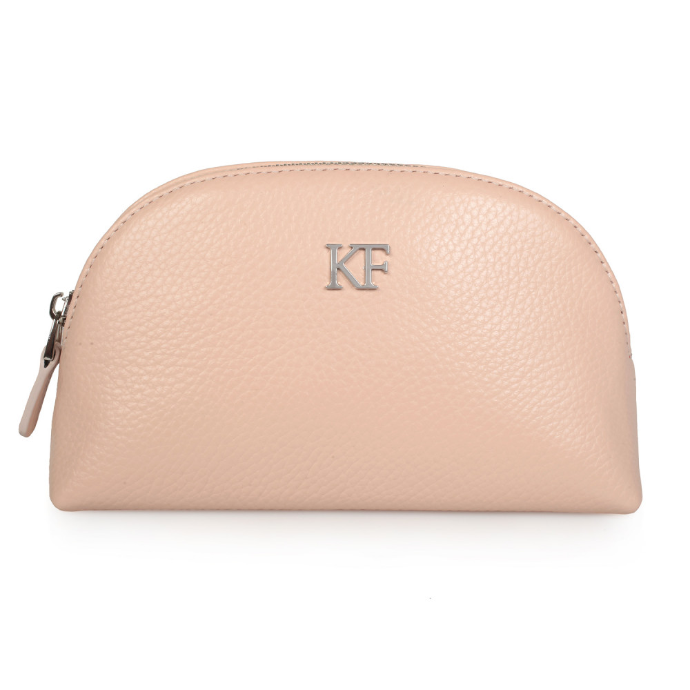 Women's leather cosmetic bag Ksusha KF-1171