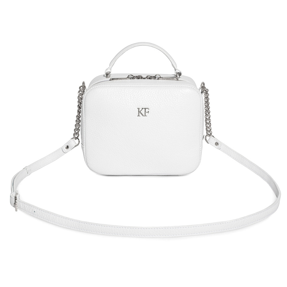 Women's leather crossbody bag Casey KF-1225