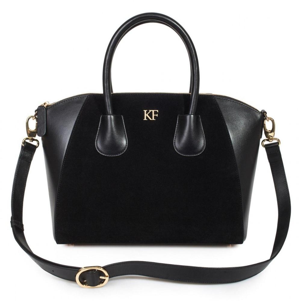 Жіноча шкіряна сумка Valeriya KF-127