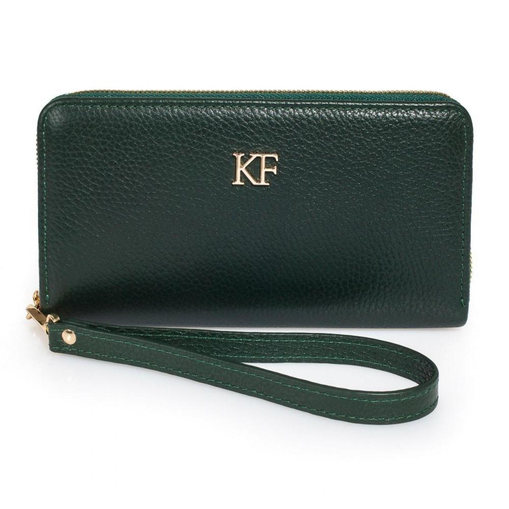 Жіночий шкіряний гаманець Classic KF-1279