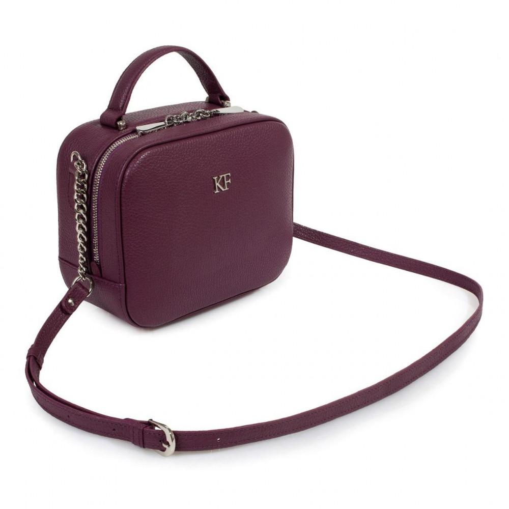 Women's leather crossbody bag Casey KF-1320