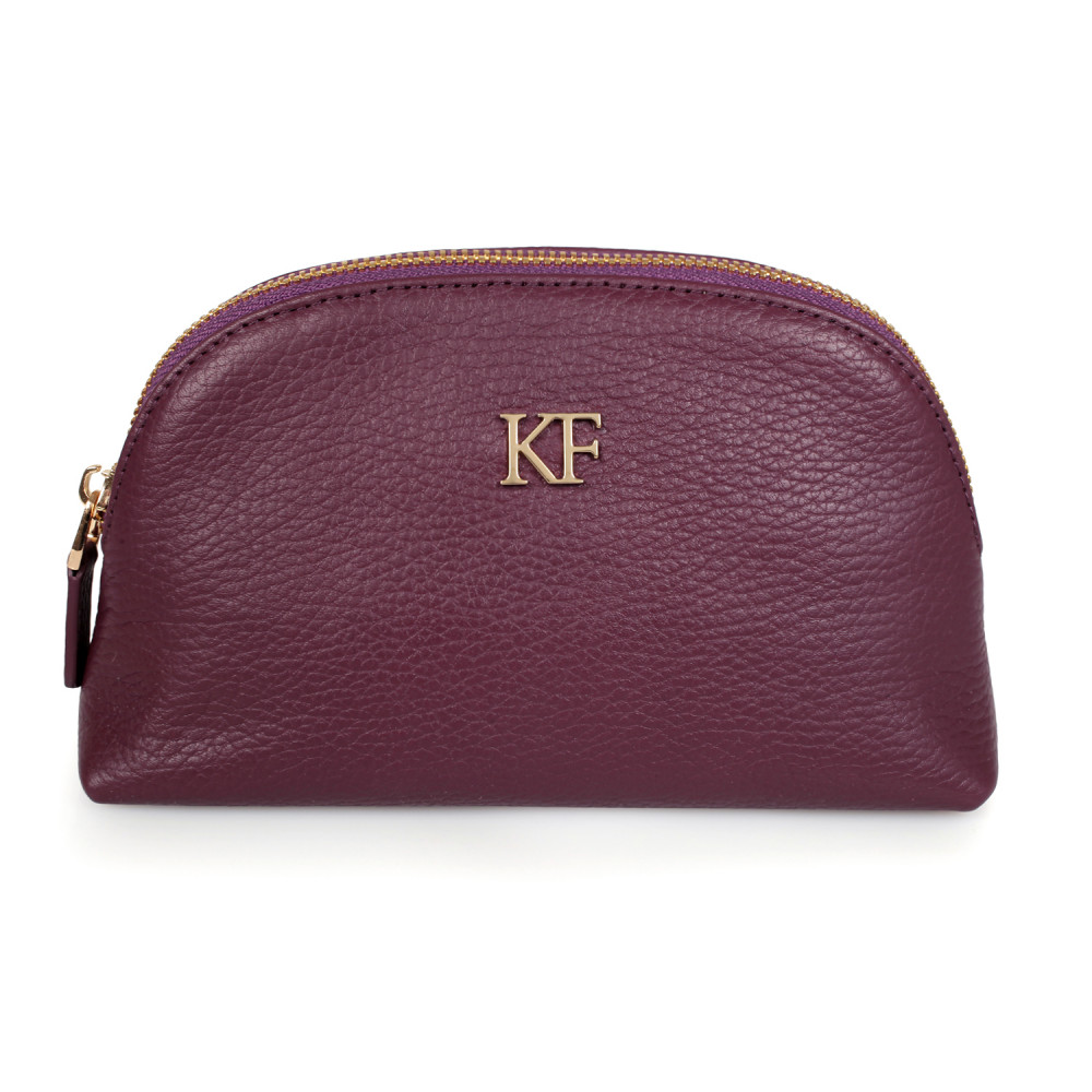 Women's leather cosmetic bag Ksusha KF-1325