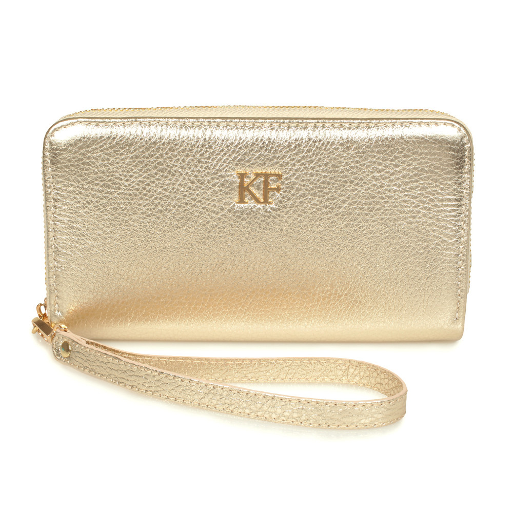 Жіночий шкіряний гаманець Classic KF-1328