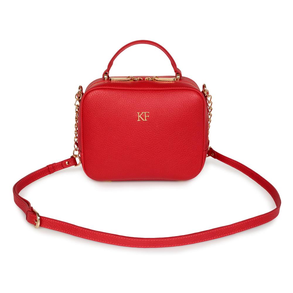 Women's leather crossbody bag Casey KF-1350