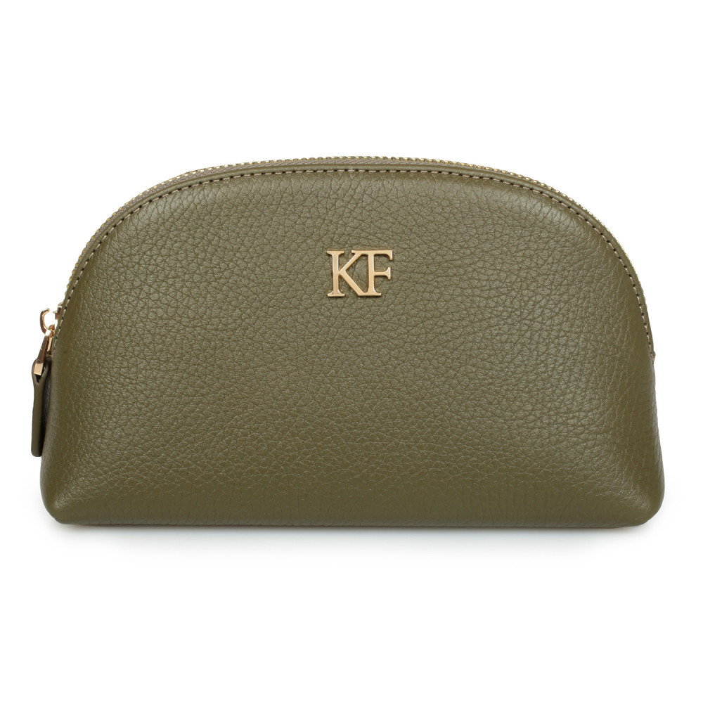 Women's leather cosmetic bag Ksusha KF-1395
