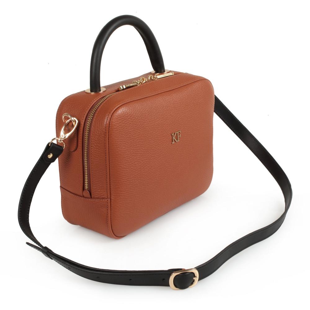 Жіноча шкіряна сумка кросс-боді Casey M KF-1488
