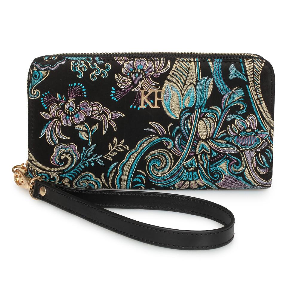 Жіночий шкіряний гаманець Classic KF-1492