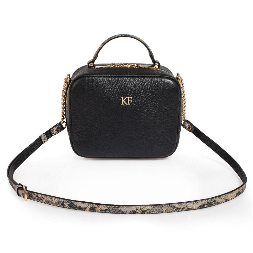 Жіноча шкіряна сумка кросс-боді Casey KF-1570