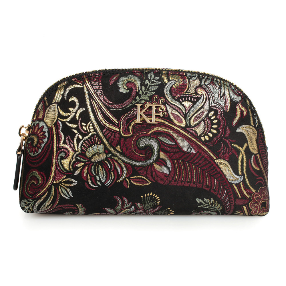 Women's leather cosmetic bag Ksusha KF-1595