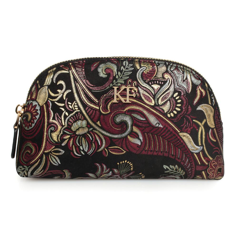 Жіноча шкіряна косметичка Ksusha KF-1595