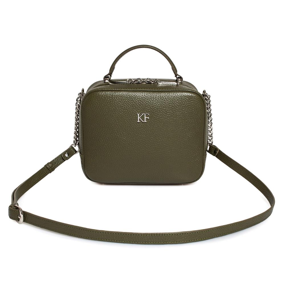 Women's leather crossbody bag Casey KF-1632