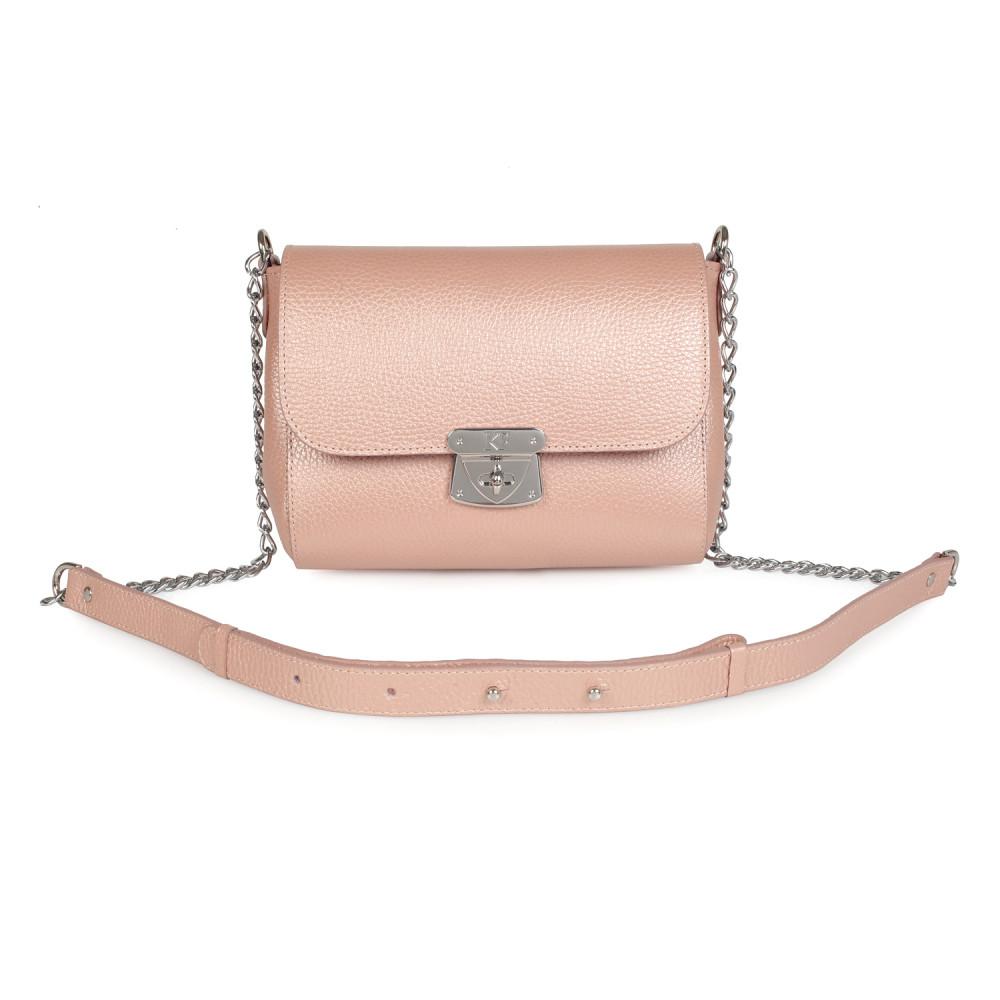 Жіноча шкіряна сумка на ланцюжку Prima S KF-1757