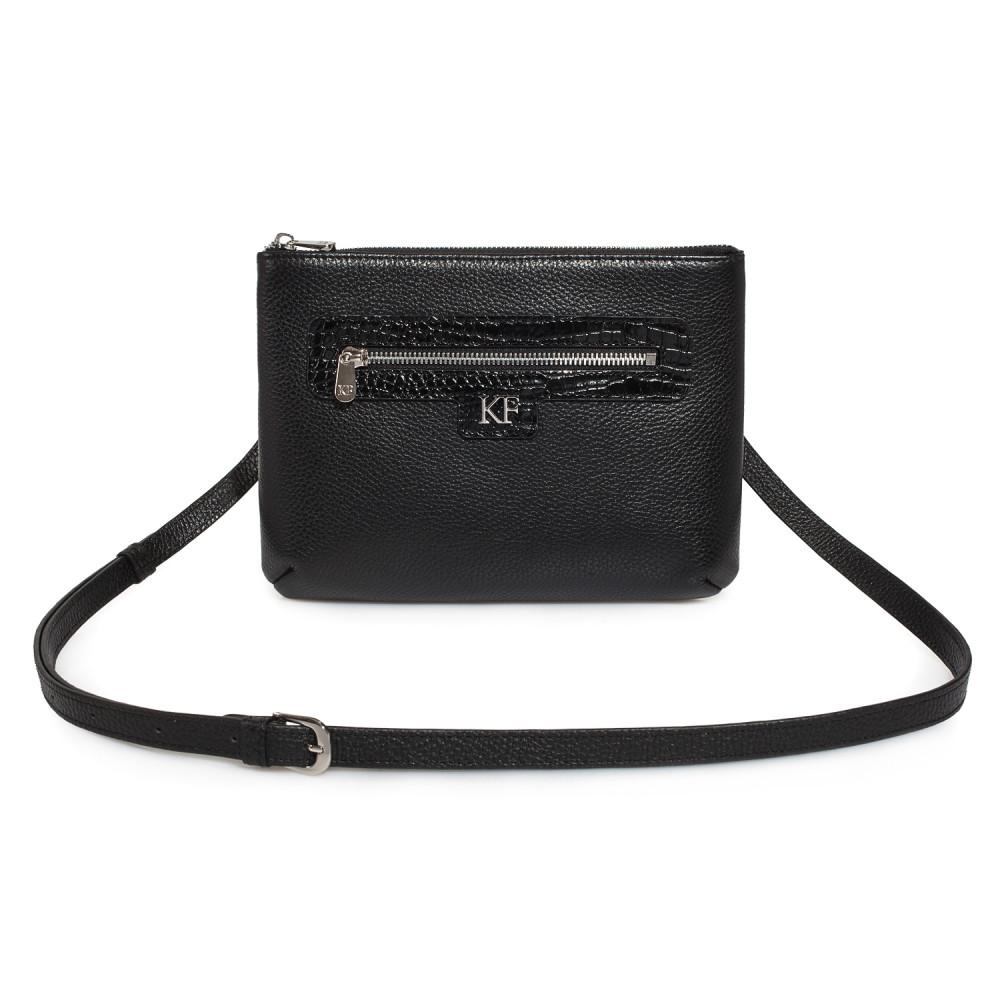 Жіноча шкіряна сумка кросс-боді Nika KF-178-1