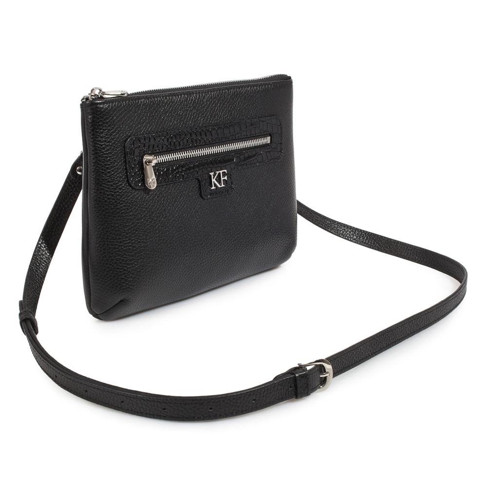 Жіноча шкіряна сумка кросс-боді Nika KF-178-2