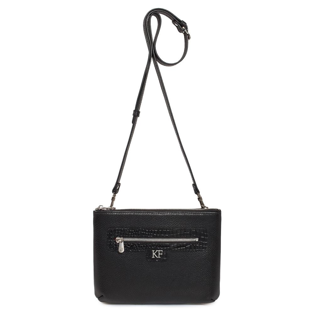 Жіноча шкіряна сумка кросс-боді Nika KF-178-3