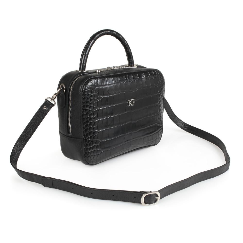 Жіноча шкіряна сумка кросс-боді Casey M KF-1786-