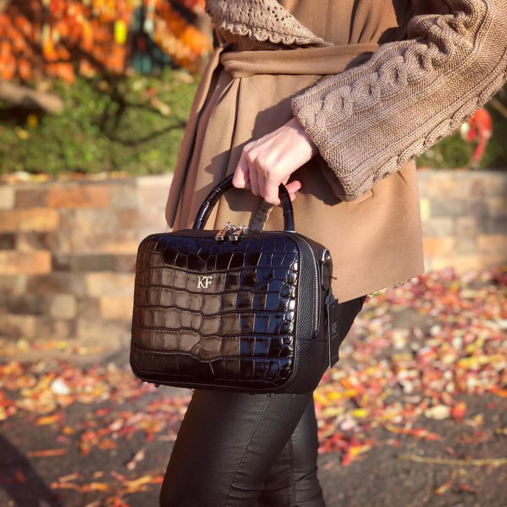 Жіноча шкіряна сумка кросс-боді Casey M KF-1786-7