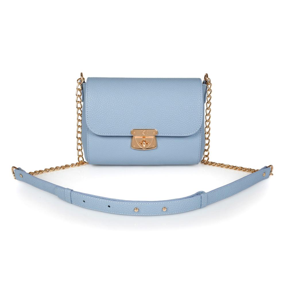 Жіноча шкіряна сумка на ланцюжку Prima S KF-1791