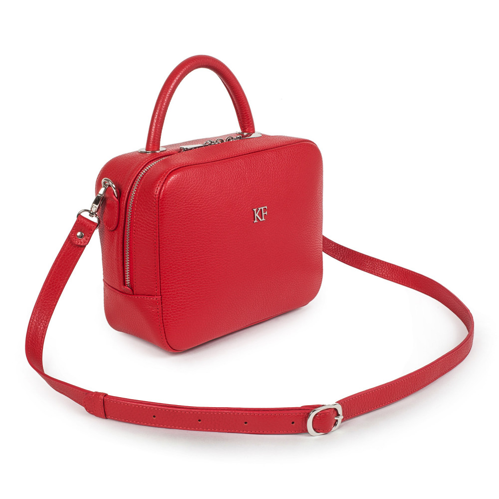 Жіноча шкіряна сумка кросс-боді Casey M KF-1803