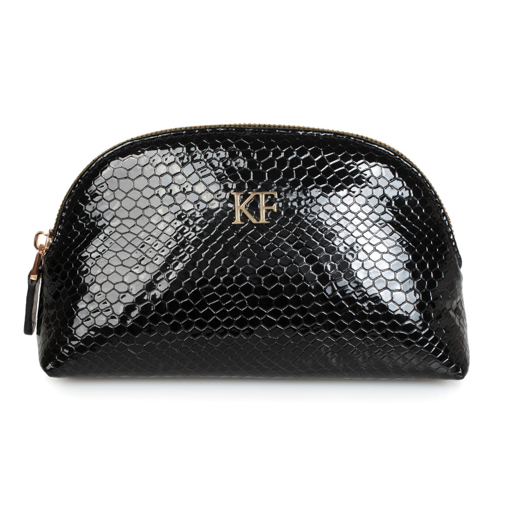 Women's leather cosmetic bag Ksusha KF-1911