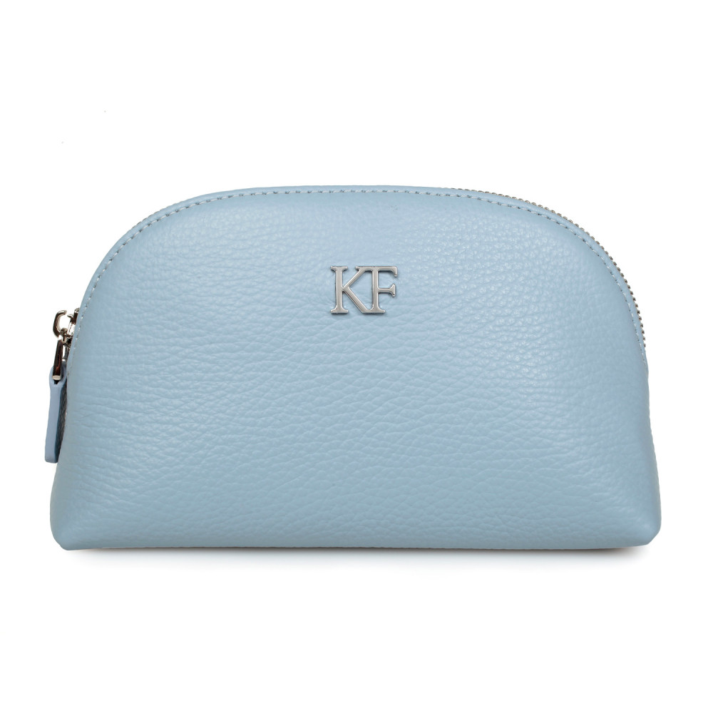 Women's leather cosmetic bag Ksusha KF-1975