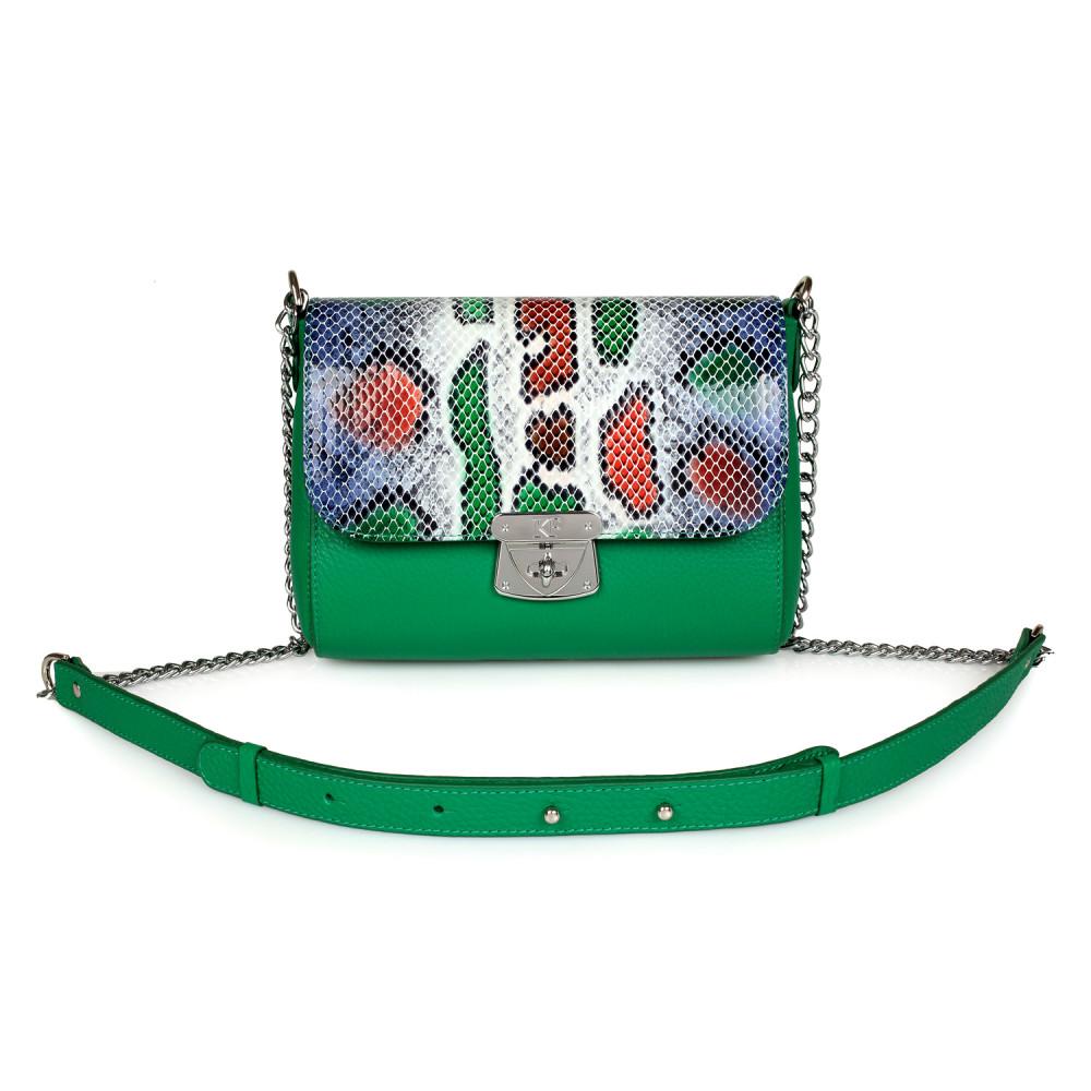 Жіноча шкіряна сумка на ланцюжку Prima S KF-2019
