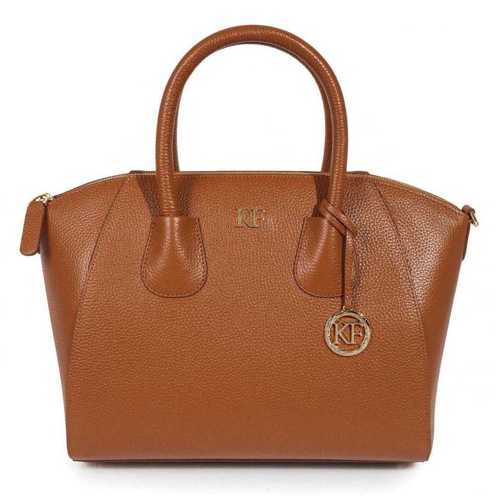Жіноча шкіряна сумка Valeriya KF-2032