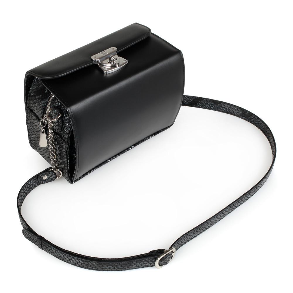 Жіноча шкіряна сумка кросс-боді Angie KF-2040-1