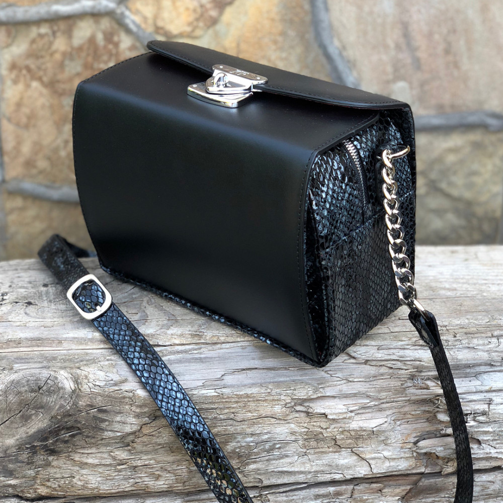 Жіноча шкіряна сумка кросс-боді Angie KF-2040-5