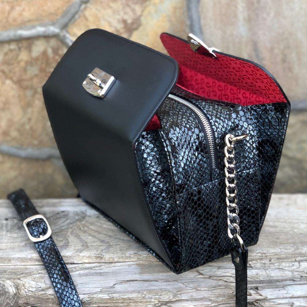 Жіноча шкіряна сумка кросс-боді Angie KF-2040-6