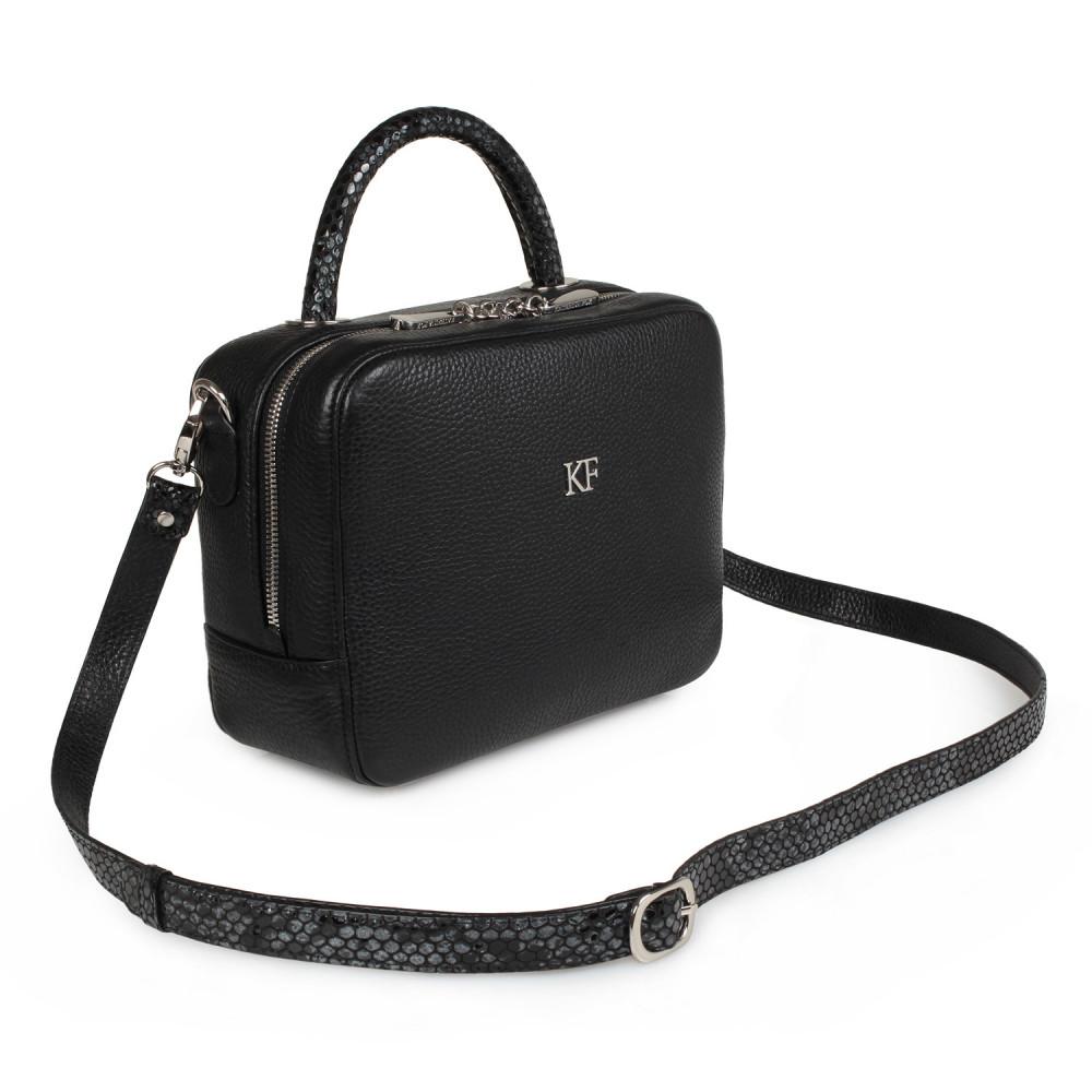 Жіноча шкіряна сумка кросс-боді Casey M KF-2043