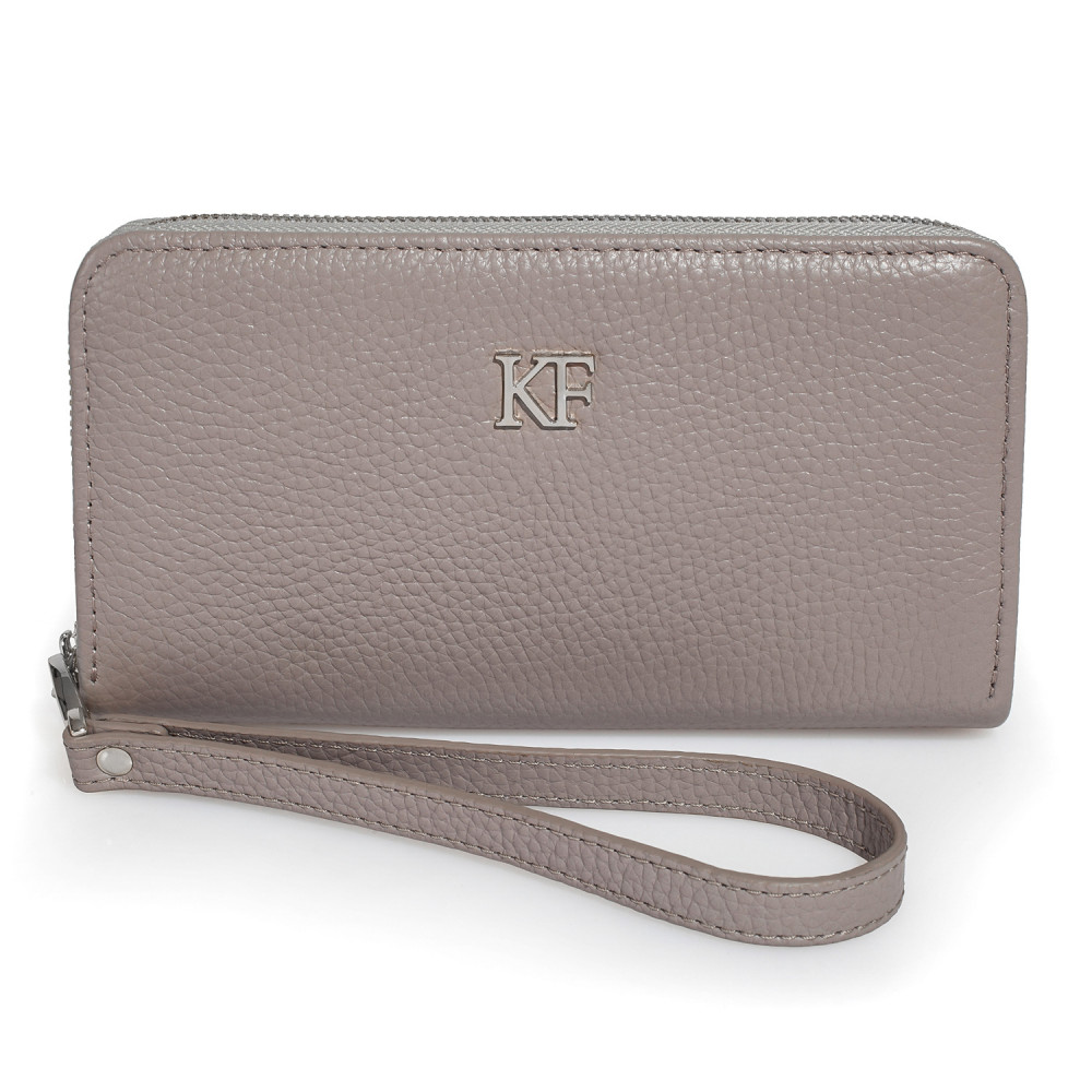 Women's leather wallet Classic KF-2100