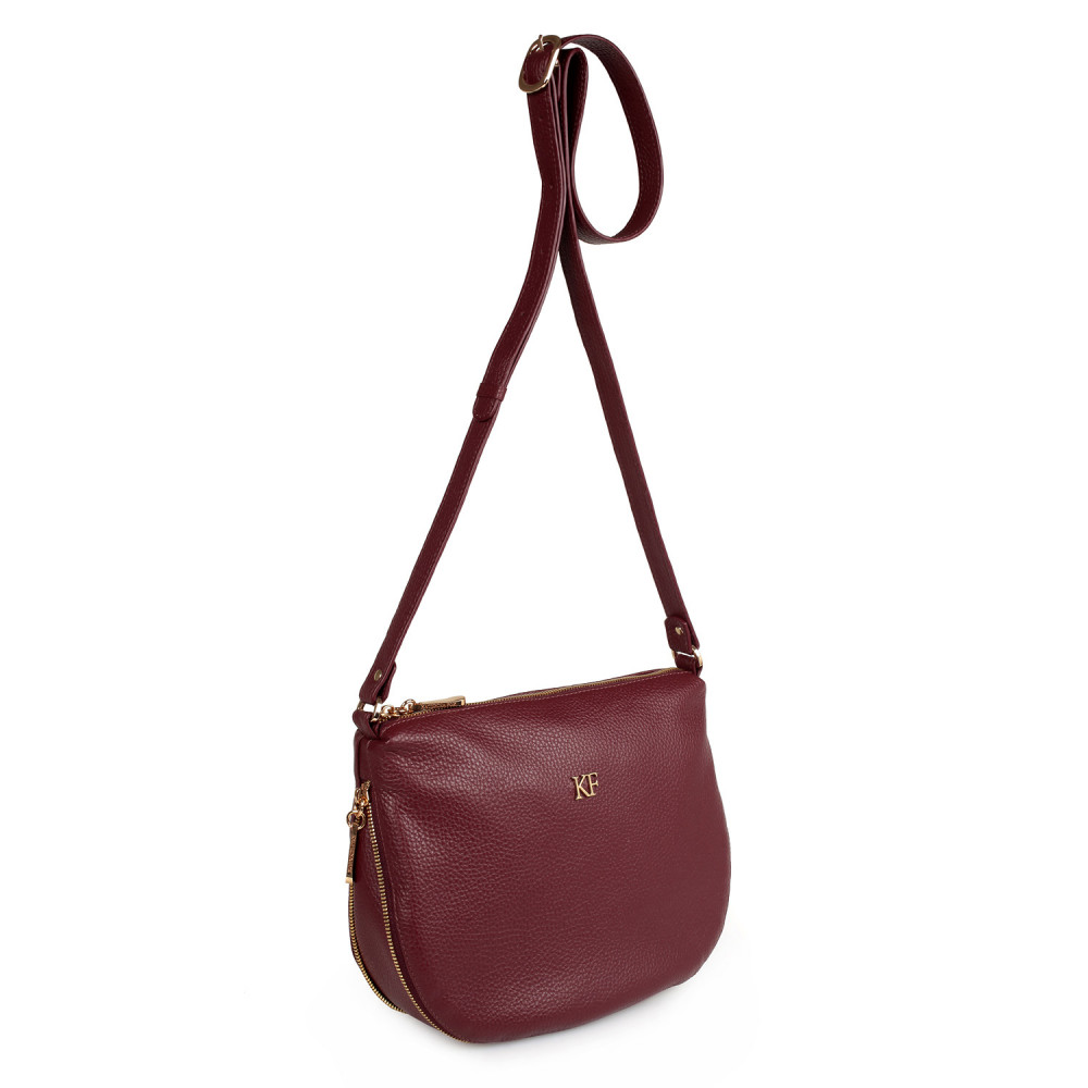 Жіноча шкіряна сумка кросс-боді Mia KF-2122