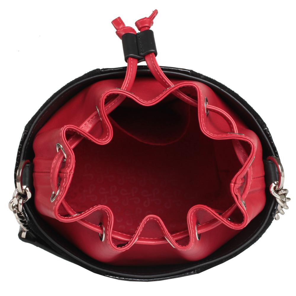 Жіноча шкіряна сумка-відро Alla KF-2133-4