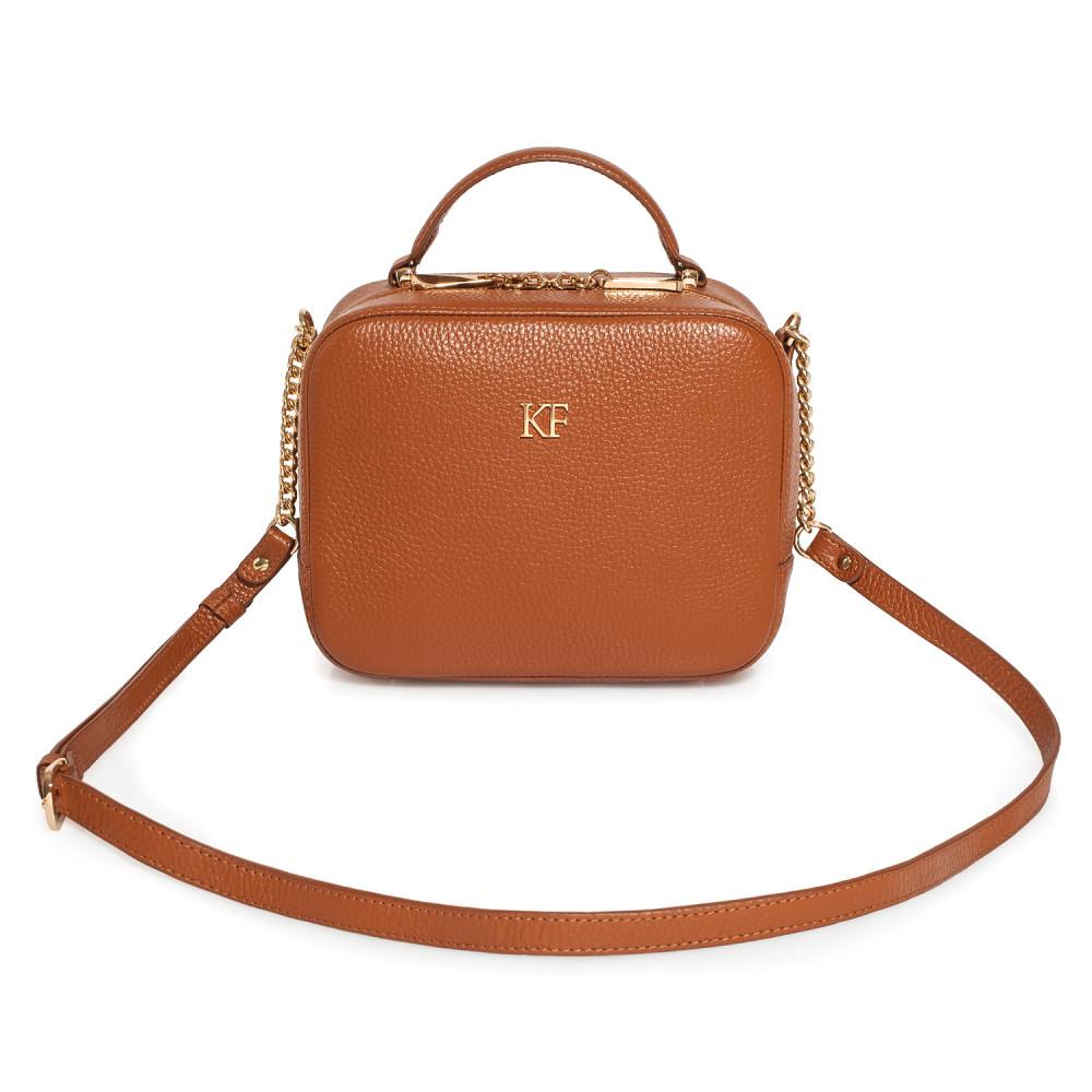 Жіноча шкіряна сумка кросс-боді Casey KF-2151