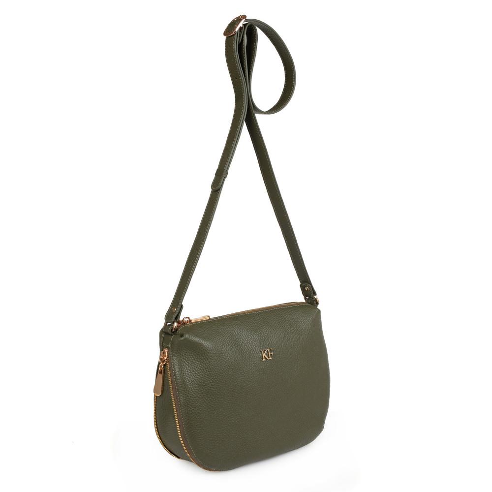 Жіноча шкіряна сумка кросс-боді Mia KF-2156