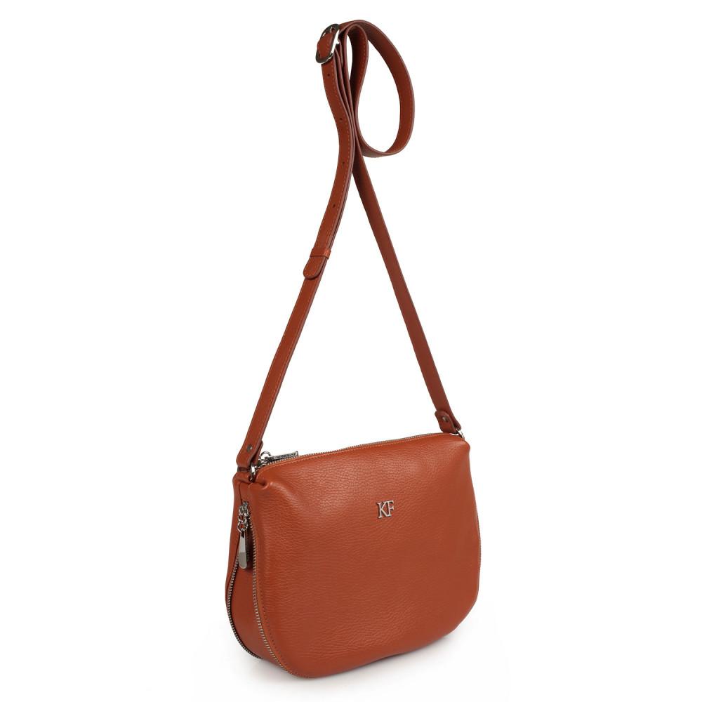 Жіноча шкіряна сумка кросс-боді Mia KF-2172
