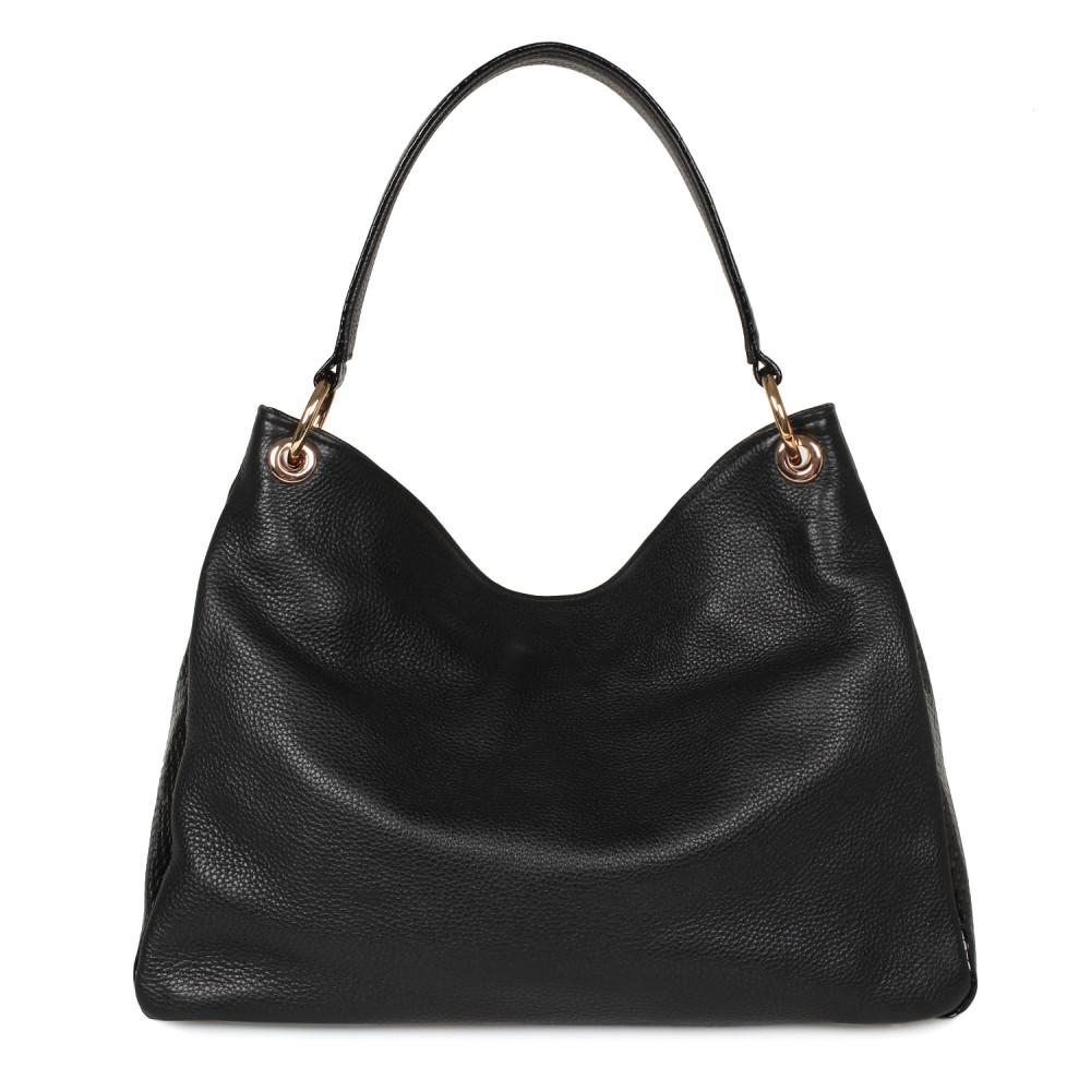 Жіноча шкіряна сумка-мішок Хобо Nadin KF-2180-2