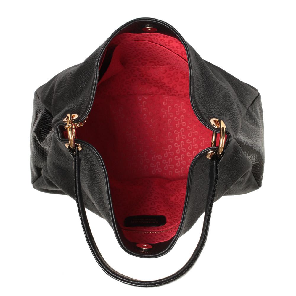 Жіноча шкіряна сумка-мішок Хобо Nadin KF-2180-3