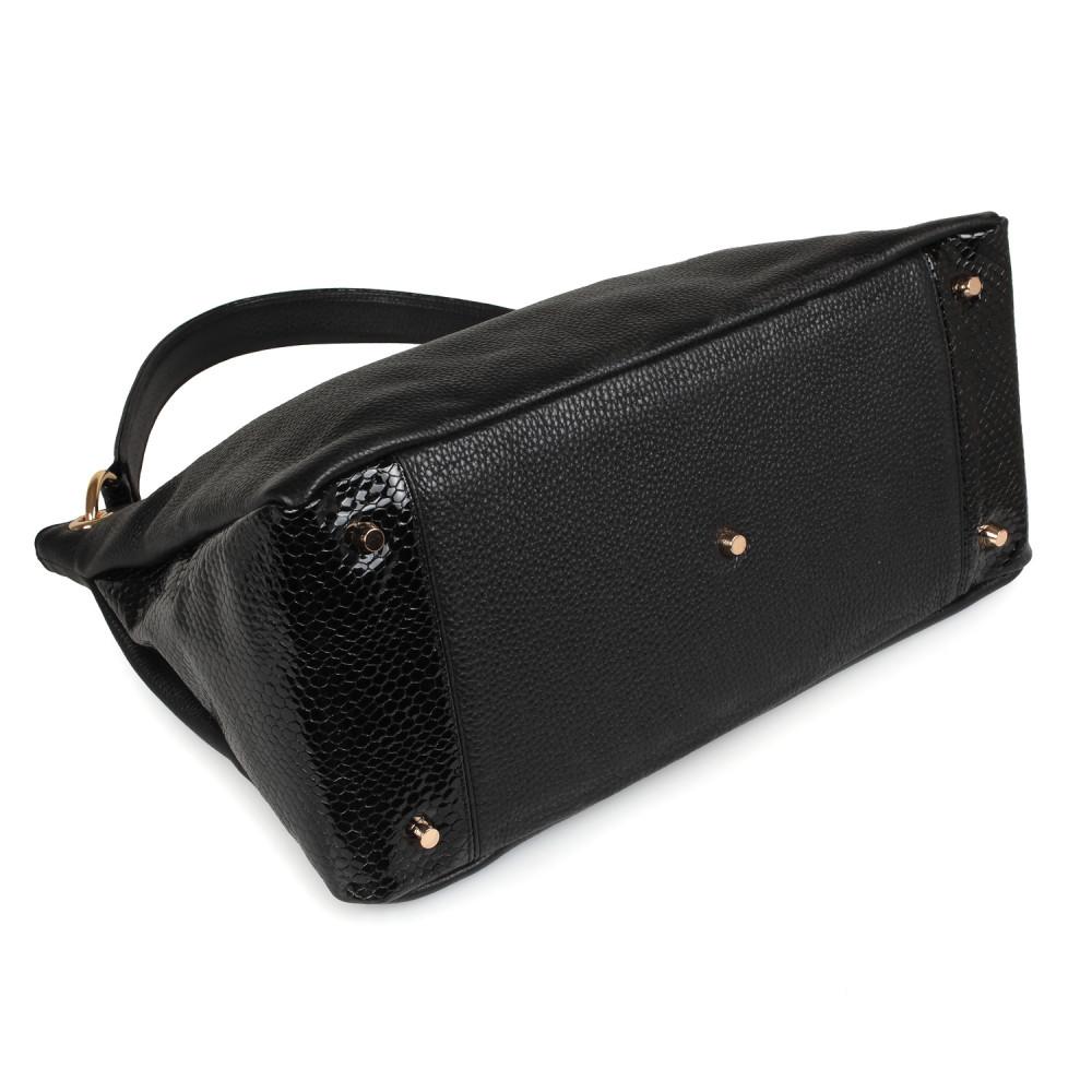 Жіноча шкіряна сумка-мішок Хобо Nadin KF-2180-4