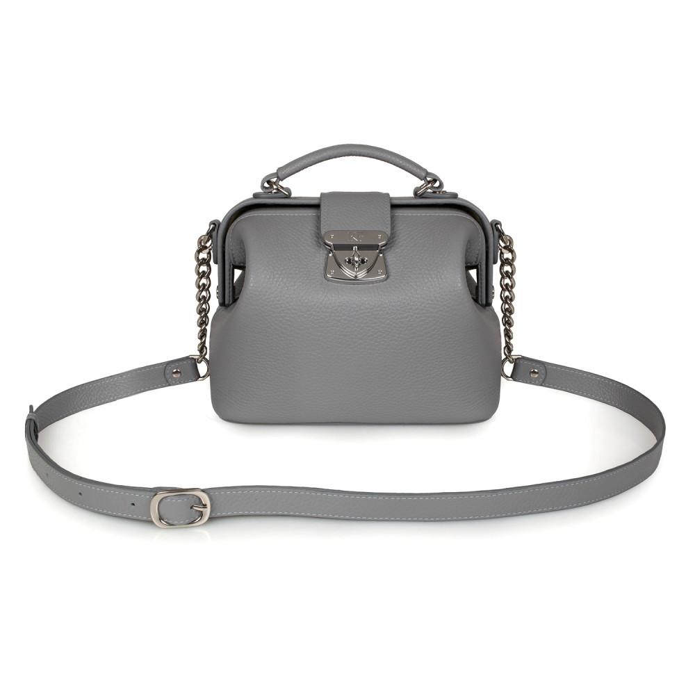 Women's leather doctor bag Diana KF-2218