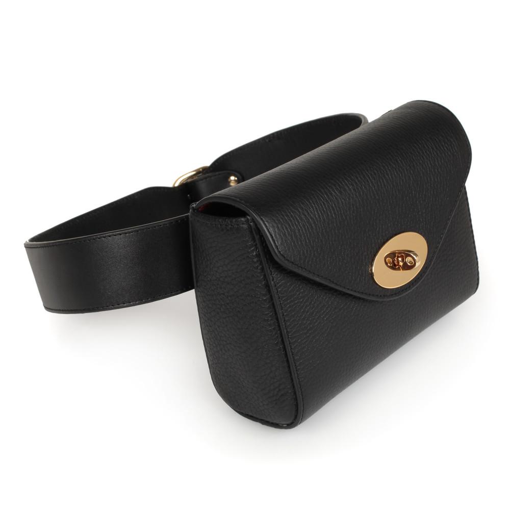 Жіноча шкіряна сумка на пояс Julia KF-2223