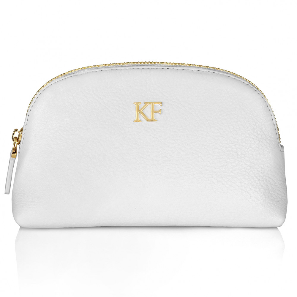 Women's leather cosmetic bag Ksusha KF-227