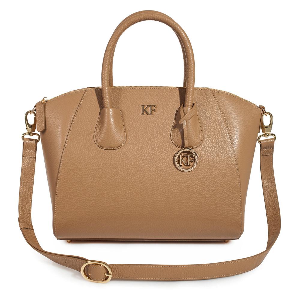 Жіноча шкіряна сумка Valeriya KF-2276