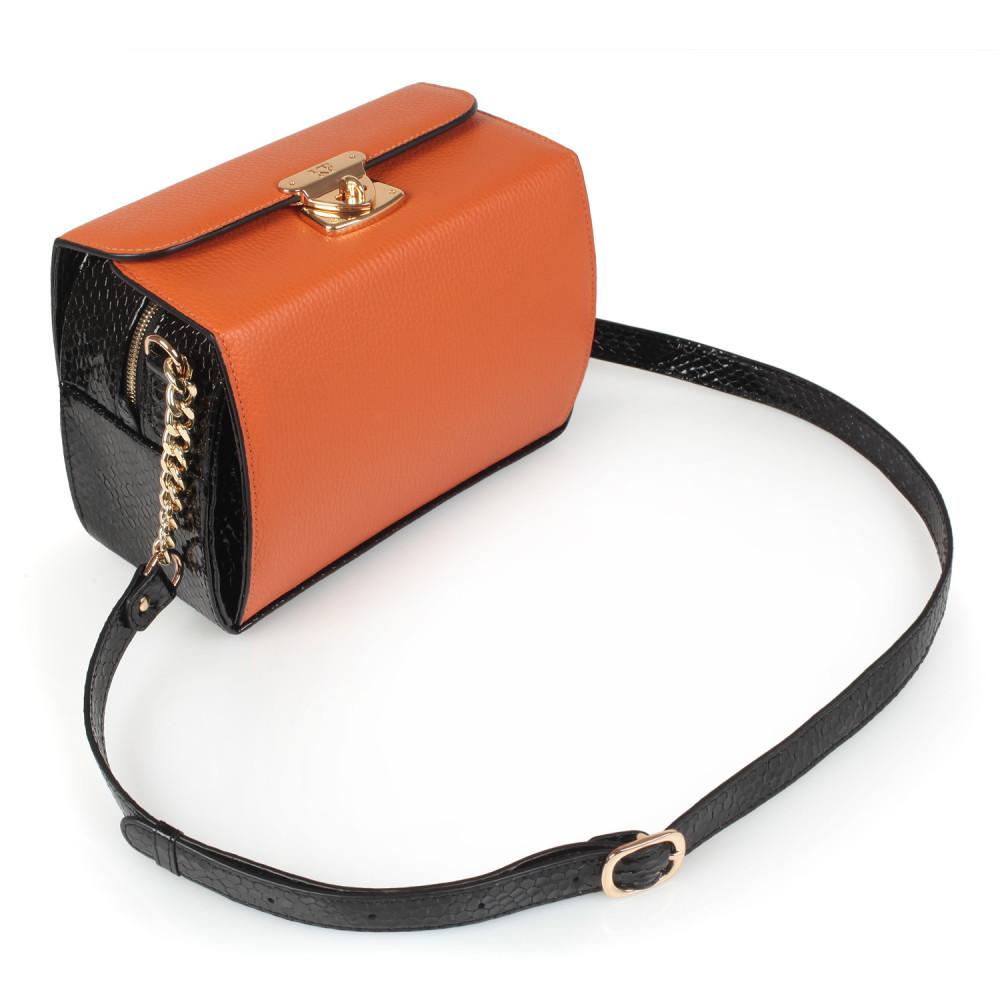 Жіноча шкіряна сумка кросс-боді Angie KF-2278-1