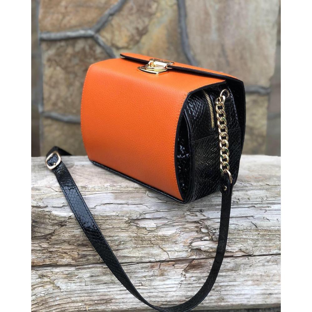 Жіноча шкіряна сумка кросс-боді Angie KF-2278-6